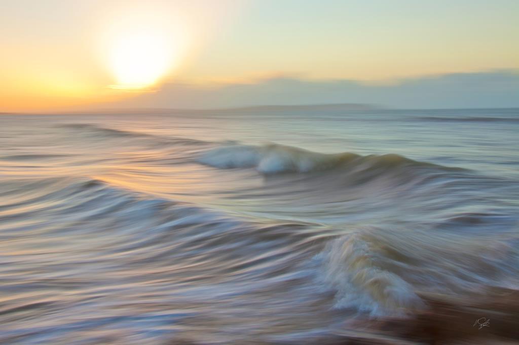 Creative motion blur seascape photography