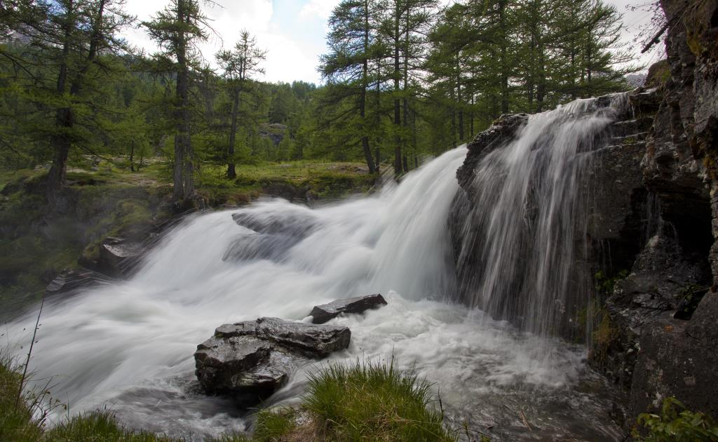 Photography Waterfall alps